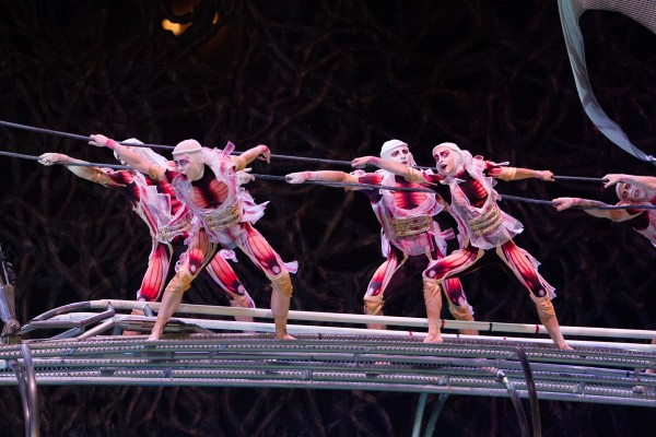 'Cirque du Soleil: Worlds Away' is produced by Paramount Pictures and James Cameron — Photo courtesy of Mark Fellman