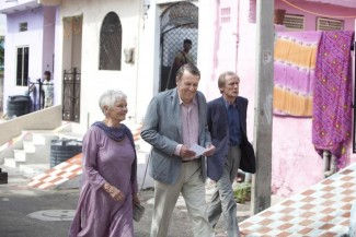 Judi Dench, Tom Wilkinson and Bill Nighy in 'The Best Exotic Marigold Hotel' — Photo courtesy of Ishika Mohan