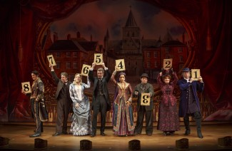 The cast of 'The Mystery of Edwin Drood' — Photo courtesy of Joan Marcus, 2012