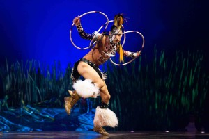 The Hoop Dancer in 'Totem' — Photo courtesy of OSA Images
