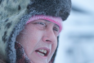 """Susan Aikesn in Kavik, Alaska — Photo courtesy of 2012 BBC Worldwide Ltd. """"All Rights Reserved"""""""