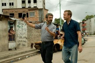 Ricardo Darín and Jeremie Renier in 'White Elephant' — Photo courtesy of Strand Releasing