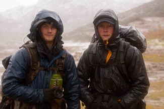 Dallas and Tyrell Seavey of 'Ultimate Survival Alaska' — Photo courtesy of National Geographic Channels / Stewart Volland