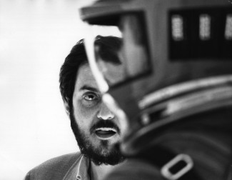 Stanley Kubrick on the set of '2001: A Space Odyssey' — Photo courtesy of Warner Brothers Entertainment Inc.