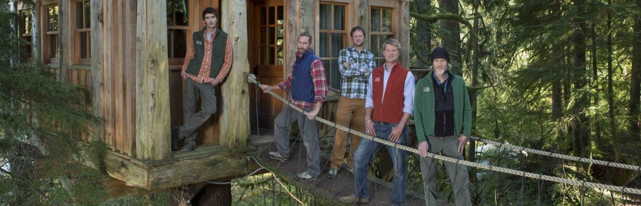 Treehouse Masters Irish Cottage treehouse master' pete nelson explores his own 'tree' roots