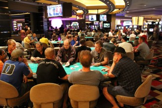 Planet Hollywood's poker room — Photo courtesy fo Caesars Entertainment