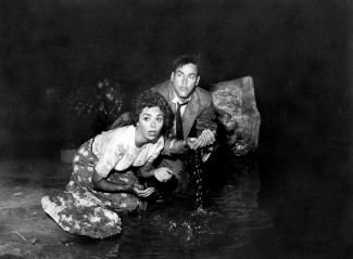 Dana Wynter and Kevin McCarthy in 'Invasion of the Body Snatchers' — Photo courtesy of Photofest