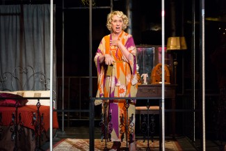 'The Mutilated' with Mink Stole continues through Dec. 1 in downtown Manhattan — Photo courtesy of Scott Wynn