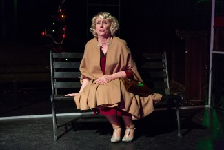 Mink Stole in 'The Mutilated' at the New Ohio Theatre — Photo courtesy of Scott Wynn