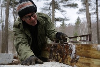 Paul DiMeo on 'Building Wild' — Photo courtesy of 90 Miles Productions