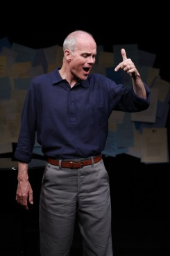 Simon Green performs at 59E59 through June 1 — Photo courtesy of Carol Rosegg