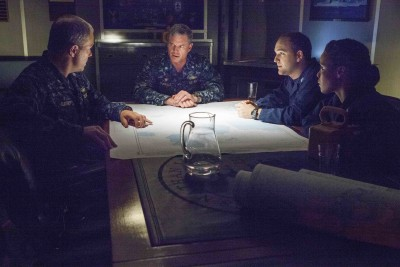 "A scene from TNT's The Last Ship, episode ""We'll Get There."" Photo courtesy of Karen Ballard."