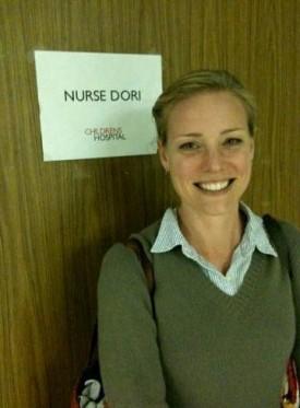 Zandy Hartig plays Nurse Dori on 'Childrens Hospital' — Photo courtesy of Foundry Communications