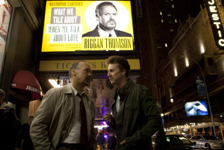 Michael Keaton and Edward Norton star in Birdman, winner of Best Picture at the Academy Awards — Photo courtesy of Fox Searchlight