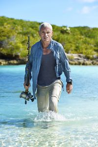 Jeremy Wade is host of River Monsters. Photo courtesy of Animal Planet