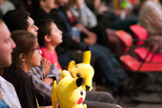 Pokémon: Symphonic Evolutions is currently touring the world and included a stop in Los Angeles. Photo courtesy of Princeton Entertainment.