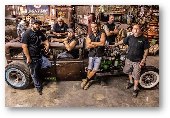 Garage Fun Cast : Interview steve darnell is ready for more 'vegas rat rods