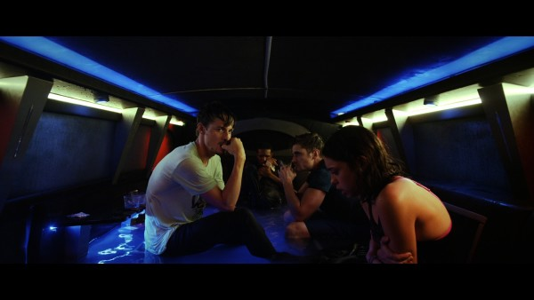 Jonathan Bennett leads the cast of Submerged, a survival thriller. Photo courtesy of IFC Midnight.