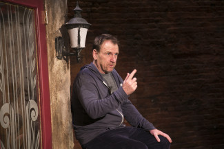 Colin Quinn New York Story plays the Cherry Lane Theatre through Jan. 31. Photo courtesy of Mike Lavoie.