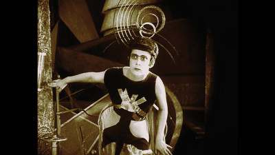 Aelita — directed by Yakov Protazanov, 1924, Russia — is one of more than 200 films used in Manu Luksch, Martin Reinhart and Thomas Tode's documentary Dreams Rewired. Photo courtesy of Icarus Films.