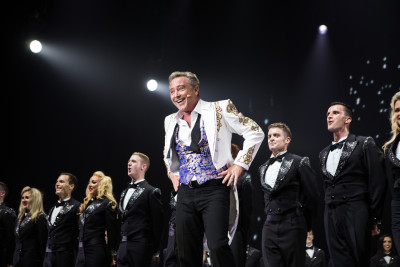 Michael Flatley directed and created Lord of the Dance: Dangerous Games. He is currently starring in the show on Broadway. Photo courtesy of Brian Doherty for Rapa Investments.