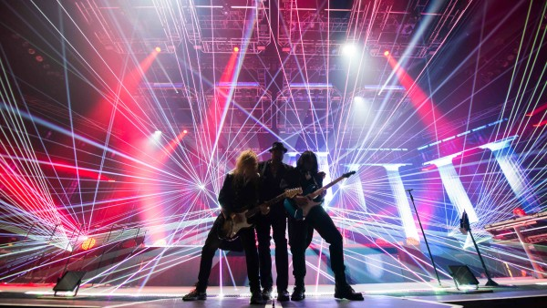 Guitars rule at any Trans-Siberian Orchestra concert. Photo courts of Jason McEachern.