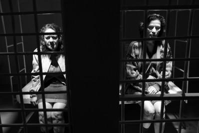 Nora Velázquez stars as Dora (left) and Patricia Reyes Spíndola stars as Adela in Arturo Ripstein's Bleak Street. Photo courtesy of Leisure Time Features.