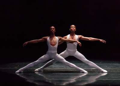 Dance Theatre of Harlem includes Anthony Savoy and Fredrick Davis. Photo courtesy of Sharen Bradford.