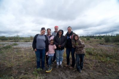 The Korth family has adapted to the land in Alaska. They are the subject of the reality series The Last Alaskans. Photo courtesy of Discovery Channel.