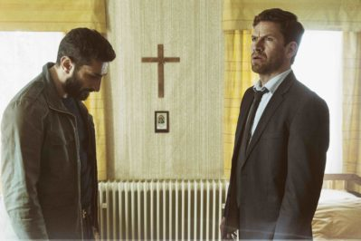 From left, Fares Fares and Nikolaj Lie Kaas star in A Conspiracy of Faith, the third film in the Department Q trilogy. Photo courtesy of Henrik Ohsten Flaskepost.