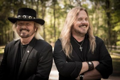 Brothers Donnie and Johnny Van Zant will release Red, White & Blue (Live) on Loud and Proud Records. Photo courtesy of Kristen Van-Zant.