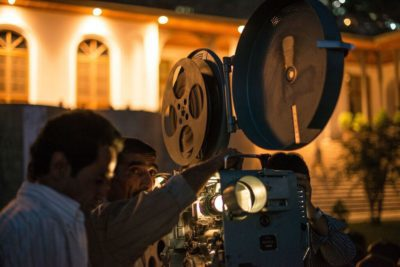 A Flickering Truth tells the story of a dedicated group of film archivists trying to save Afghanistan's movie history. Photo courtesy of Margaret Mead Film Festival.