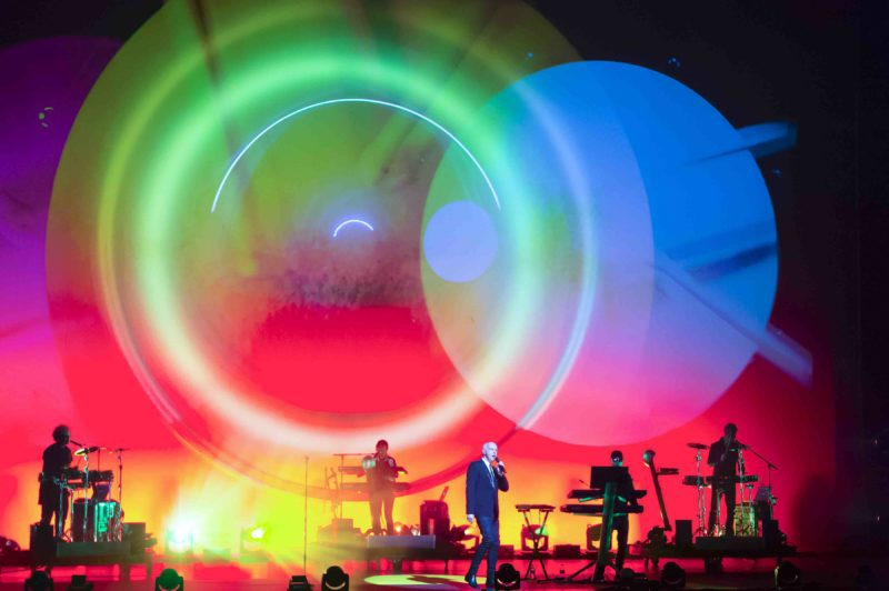 Pet Shop Boys are currently touring the world in support of their latest album, Super. Photo courtesy of Ken McKay.