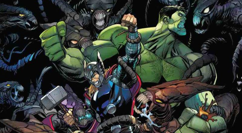 INTERVIEW: Thor takes on Hulk in new 'Champions of the Universe'