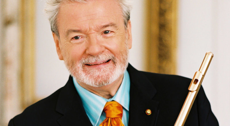 INTERVIEW: Sir James Galway still on his flute route