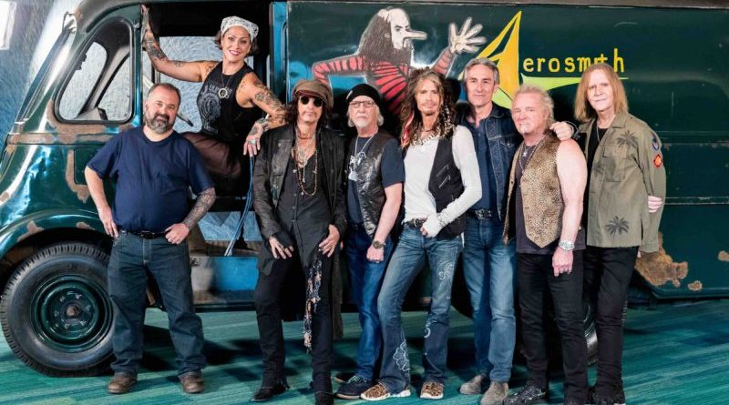 INTERVIEW: Aerosmith join 'American Pickers' for reveal of restored original tour van