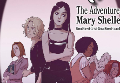 REVIEW: New graphic novel 'Mary' envisions descendant of Mary Shelley healing monsters